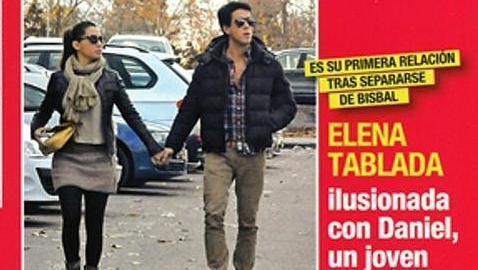 Elena Tablada y Daniel Arigita, en la portada de Diez Minutos.