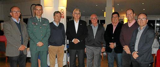 Pep Escalas, Francisco Córdoba, Joan Gual, Gabriel Dols, Miquel Suñer, Jaume Vaquer, Miguel Félix Chicón y Toni Estades.