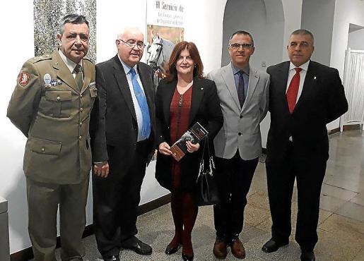 Tomás del Cojo, Josep Farré, Catalina Font, Antonio García y Leonardo Lafuente.