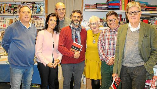 Manuel Alcarreta, Joana Català, Jaume Barés, Manel Santana, Dora Muñoz, Joan Mayol y Pere Oliver.