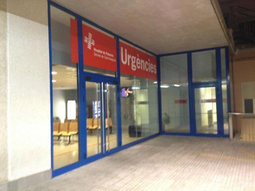 Imagen de la zona de urgencias del Hospital de Palamós.
