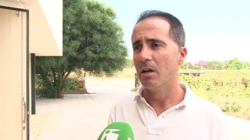 José Manuel Alcaraz, tras un pleno del Consell de Formentera.