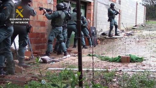 Detenidos 57 miembros de una red de narcotráfico entre el norte de África y Europa.