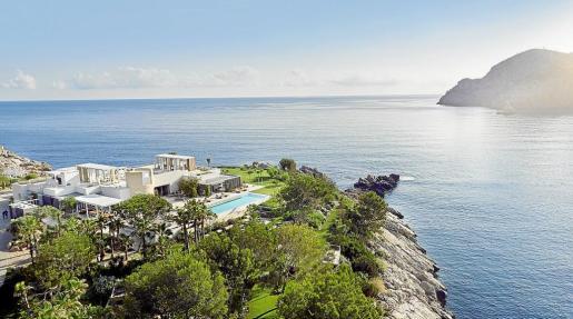Sa Ferradura, un enclave privilegiado, situado en el Puerto de Sant Miquel.