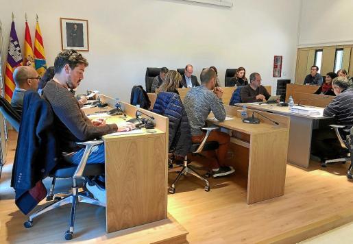 Imagen del pleno extraordinario del Consell de Formentera celebrado ayer.