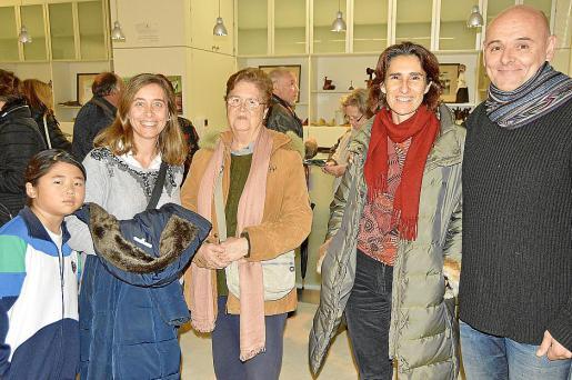 Mei Treviño, Gloria Escayola, Eugenia Sampere, Marga Vidaña y Pep Pinya.