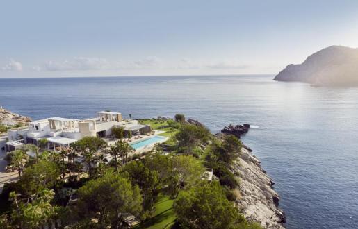 Sa Ferradura, situada en Sant Miquel, elegida mejor villa turística de Europa.