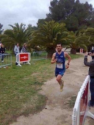 Pedro Ventura afronta los últimos metros de la prueba disputada en Cala Bassa. Foto: EDU COSTA