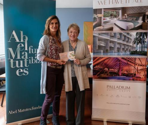 La Fundación Abel Matutes dona 5.000 euros a la Asociación Ibiza y Formentera Contra el Cáncer.