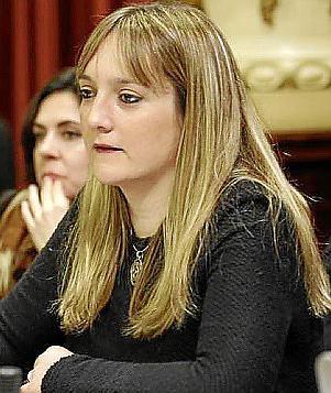 La diputada Tania Marí.