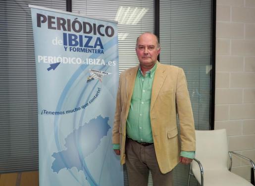 Jaime Díaz de Entresotos, presidente de Actúa-Vox en Ibiza.