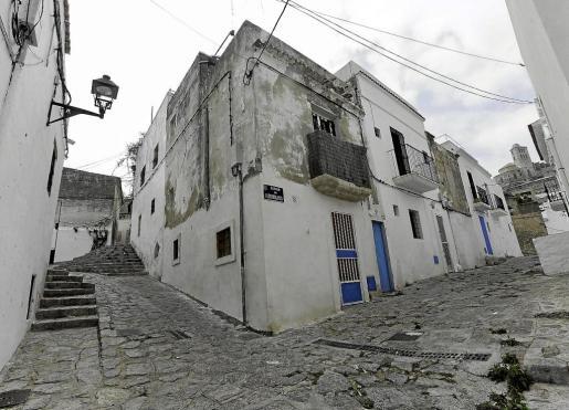Imagen de archivo de las calles de sa Penya.