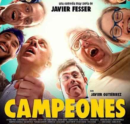 Cartel de la película 'Campeones'.