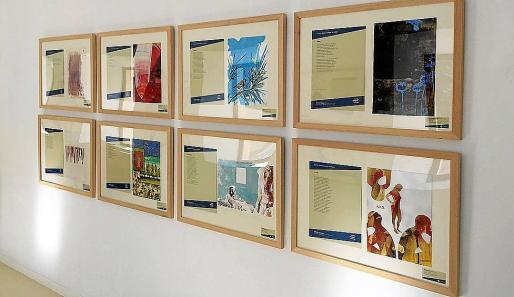La exposición se inauguró el lunes y se puede ver en la sede de la UIB hasta el 11 de enero.