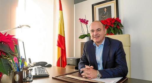 Vicent Marí afronta con ilusión el reto de presidir el Consell d'Eivissa si gana.