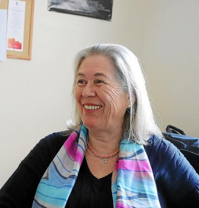 La médico María Tresserra.