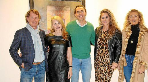 Lasse Ijas, Ángela Cladera, Lucas Viñals, Rosa Vanrell y Lines Pons.