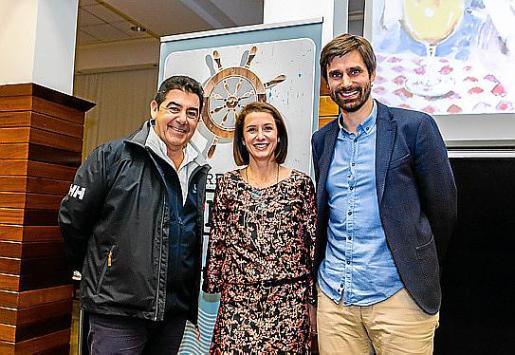 Jaume Vermell, Elena Pipó y Carles Gonyalons.