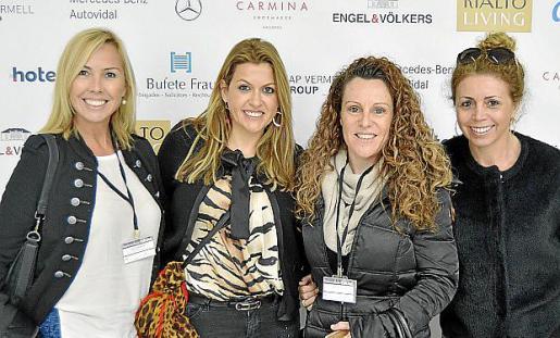 Ana Méndez, Lucila Siquier, Magdalena Ramis y Patricia Guerrero.