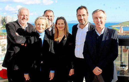 Luis Corral, Marta Vall-Llosera, Manuel Porras, Annalisa Ridches, Alfredo Arias y Joan Daviu.