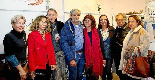 Raixa Quesada, Pilar García, Miguel Martorell, Carlos Quesada, Montse Querol, África Juan, Bruno Frerejean y Monsina Rosselló.