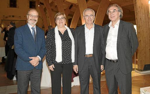 José María Elvira, Gemma Cardona, Miquel Balle y Martí March.