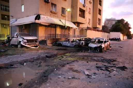 El Gobierno español condena el atentado perpetrado contra el Ministerio de Exteriores de Libia.