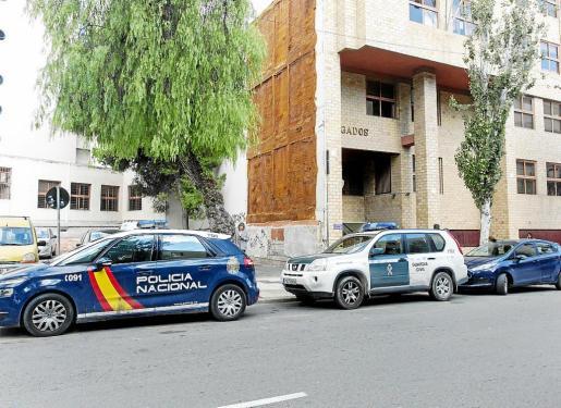 Imagen de la fachada de los juzgados de Ibiza en la avenida Isidor Macabich de Ibiza.