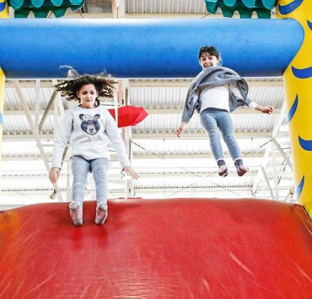 Los niños de todas las edades encuentran en el Diverespai todo tipo de actividades para disfrutar.