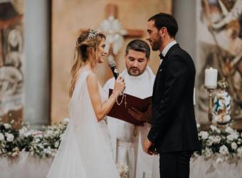 Diego Godín y Sofía Herrera se casan