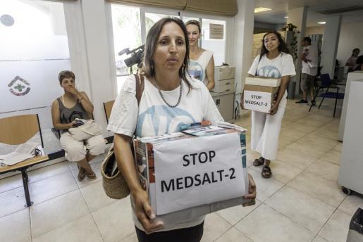 Alianza Mar Blava presentó cerca de 50.000 alegaciones contra le proyecto el pasado mes de julio.