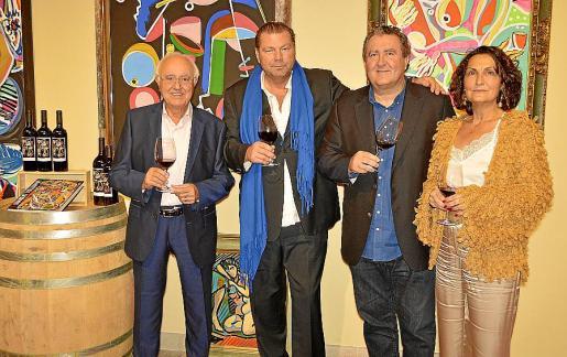 Sebastià Rubí, Markus Tollmann, Ramón Servalls y Tonina Bestard.
