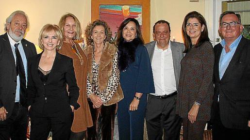 Raúl Izquierdo, Ana Zacher, Águeda Ropero, María José Bauzá, Elena Medina, Pedro Horrach, María Antonia Garcías y Francisco Fiol.