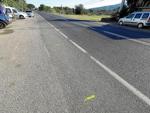 El atropello mortal se produjo el 1 de enero a las 22.30 horas en el kilómetro 7,400 de la carretera de Santa Eulària.