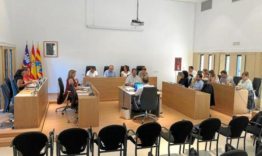 Imagen de archivo de un pleno del Consell de Formentera.