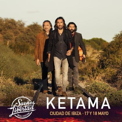 Ketama presentará su nuevo disco en el Festival Sueños de Libertad de Ibiza.