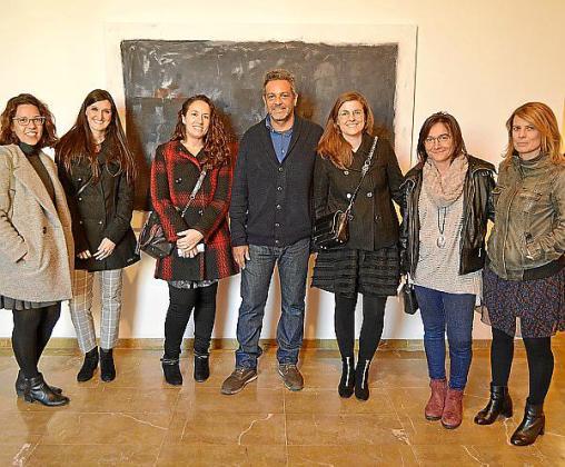 Joana Maria Serra, Miriam Romero, Eva Busquets, Álvaro Mendoza, Sara Sepúlveda, Nuria Rayó y Mari Pau Ruiz.