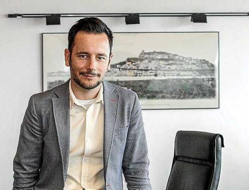 Archivo. El alcalde de Vila, Rafa Ruiz