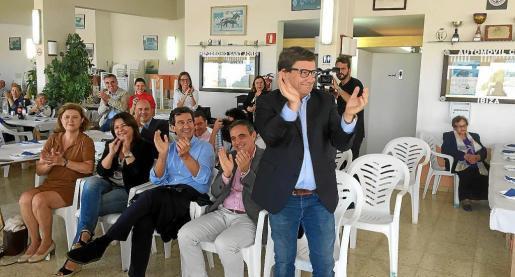 Javier Marí, el día que fue elegido como presidente de la junta local del PP de Sant Josep en octubre de 2017. 29-10-2017