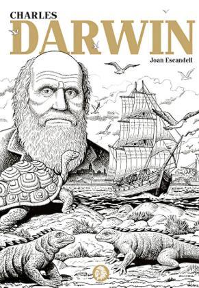 La portada de la nueva novela gráfica sobre Darwin.