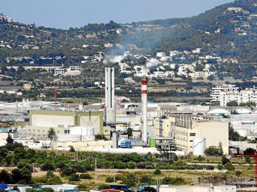 Central eléctrica de Ibiza, situada en el Pla de Vila
