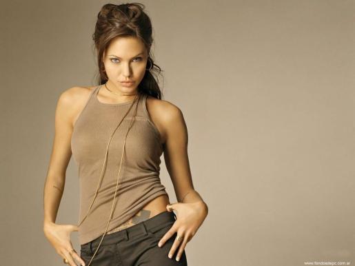 Foto de archivo de Angelina Jolie.