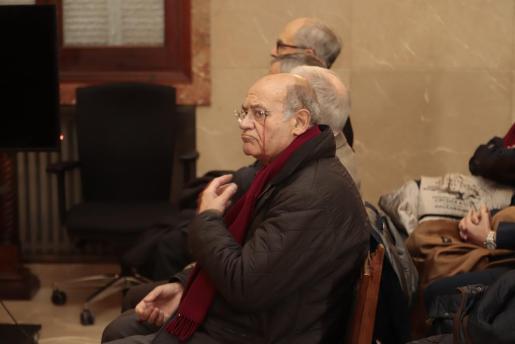Gerardo Díaz Ferrán, durante el juicio.