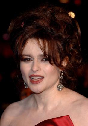La actriz Helena Bonham Carter.