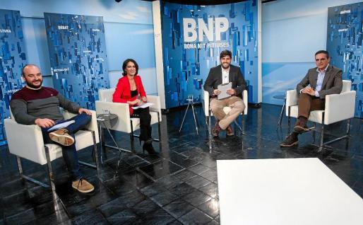 Marí Bosó fue el primer invitado del año del programa Bona nit Pitiüses.