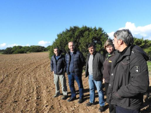 Visita a la finca de Can Marroig
