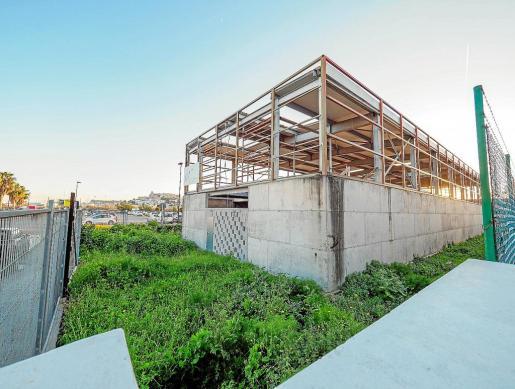 El nuevo tanatorio está previsto que se construya en este espacio del polígono industrial de es Gorg.