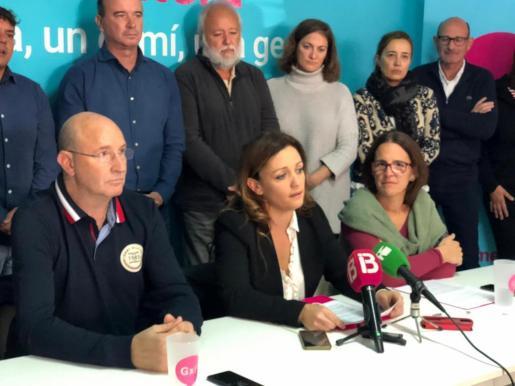Alejandra Ferrer ha anunciado este sábado su candidatura sucediendo a Jaume Ferrer