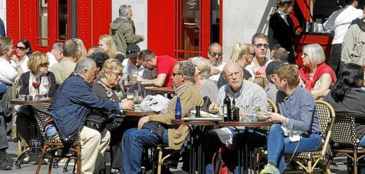 La actividad turística se ha reactivado en los meses de temporada baja, sobre todo en Palma.