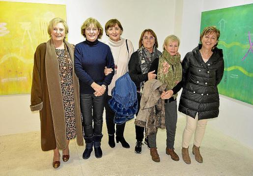 Joana Carbonell, Maria Magdalena Marimón, Sebastiana Morante, Isabel Mas, Isabel Oliver y Francisca Bergas.